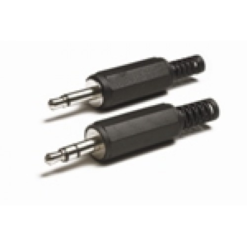 JP-3510 3.5mm Mono Jack Plug with Plastic Cover