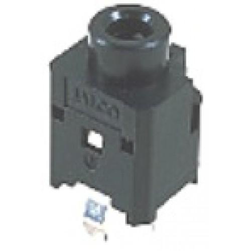 JS-3508 Jalco 3.5mm Jack Socket Vertical PCB Mono Switched
