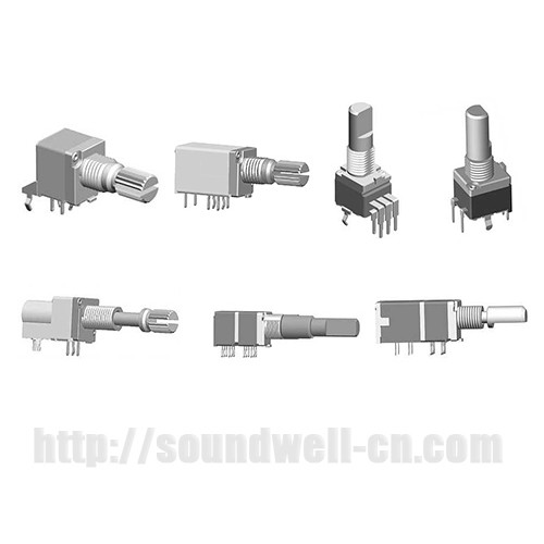 RA09 PCB Series 9mm Potentiometers from Soundwell