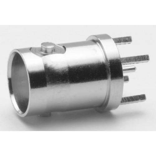 BN-2301 Uninsulated Vertical PCB BNC Socket 75 Ohm