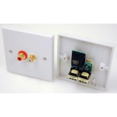 C5QCAP Smart Wall Plate  line level Audio transmission