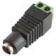 DCP-092  2.1mm DC Line Plug with 2 terminal blocks