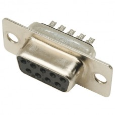 "DD-1509 9 Way ""D"" socket with solder contacts"
