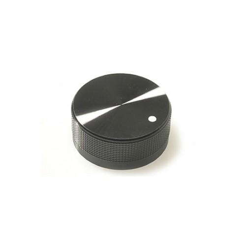 FC7226 K40B Black / Marker Dot Metal Knob