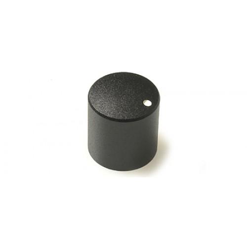 CHK KM-2700 12 x 13mm Black / Marker Dot Metal Rotary Knob