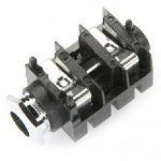 JK-1402 Mono Switched 90deg PCB mounting 15mm wide  with internal thread nose