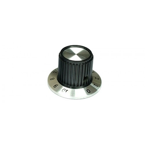 KPM-90301 Small Rotary Instrument Knob With Numbered Skirt 1-10