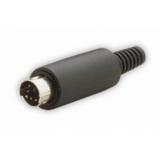 MD-5040 Low cost rewireable SVHS Plug, rewireable