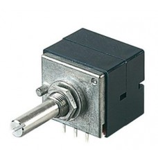 RP-2725: Alps High Grade 20K  AX2 (Dual Gang) Potentiometer Blue Velvet