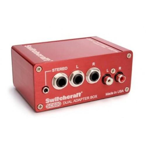 SC600 Dual Audio Adapter Box