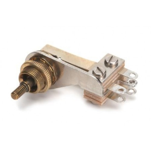 SW-12016 Switchcraft 3 Position Non Locking Lever Switch With Solder Tags Right Angled. Switchcraft Part Number 12016X