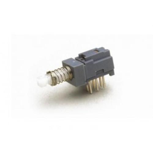 SW-1250 Sub Miniature PCB Push Switch, 2 Pole