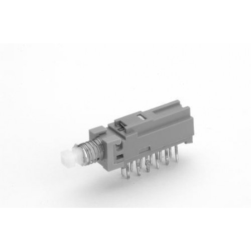 SW-1450 Sub Minature PCB Push Switch, 4 Pole.