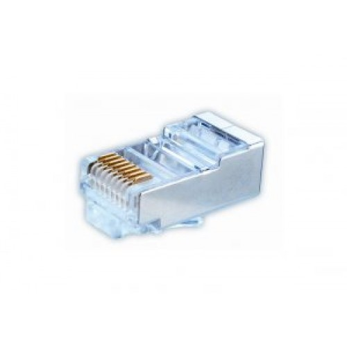 TC-1886 RJ45 Shielded Plug for Solid cable.