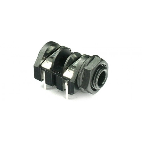 JK-2100 Mono Switched 'PC-C' type PCB mounting 6.35mm (1/4inch) jack socket.
