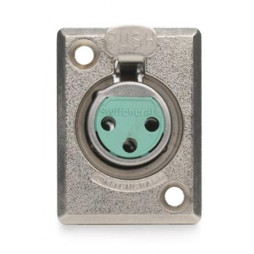XL-8150 D Series 5 Pin Female Chassis Socket Switchcraft Part Number D5F