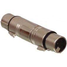 ISX-2090 - XLR 3 PIN FEMALE TO XLR FEMALE ADAPTOR