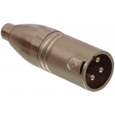 ISX-2095 - XLR 3 PIN FEMALE TO PHONO PLUG MALE