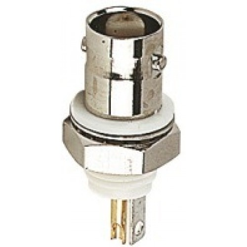 BN-1900:BNC Insulated Chassis Socket 50 Ohm