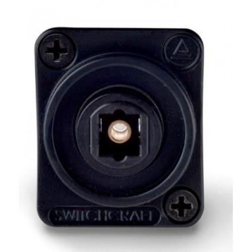 EH-1850 Switchcraft Toslink. Socket to Socket. Black Switchcraft Part Number EHTL2