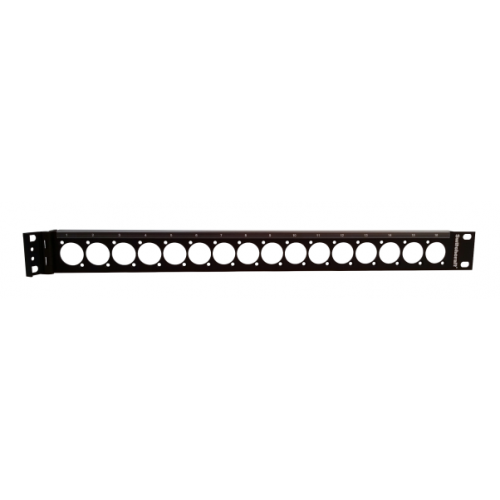 EH-2015 Switchcraft 1U High Patch panel With Hinge Part No: QGPK1BF1