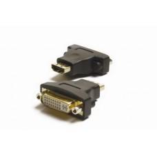 HM-3000 HDMI Socket (Female) to DVI Socket (Female) adaptor