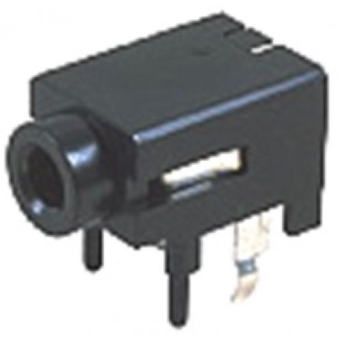 JS-3529 Jalco 3.5mm Jack Socket R/A PCB Mono Switched