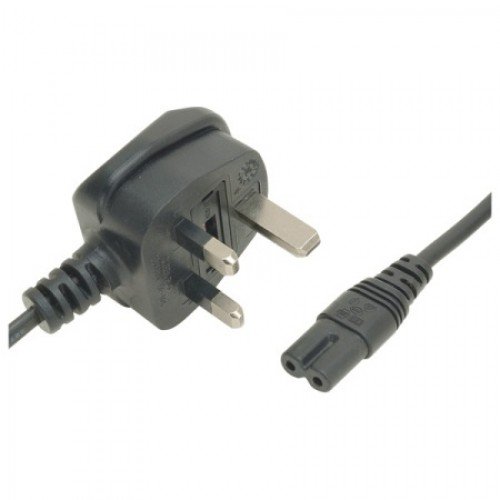 MC-5280 UK/Fig 8 2M Black 3Amp