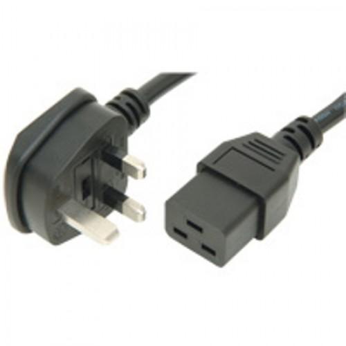 MC-5619 UK/C19 2.0M 13 Amp Fused 3/1.5M