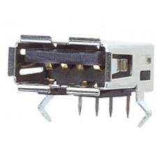 US-4005 Single A PCB Mount Socket