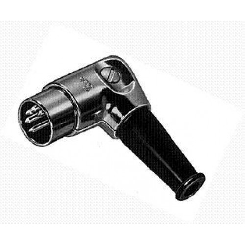 Rugged right angled 7 pin x 270 degrees fully shielded Din Plug Switchcraft Part No:15DL7MX