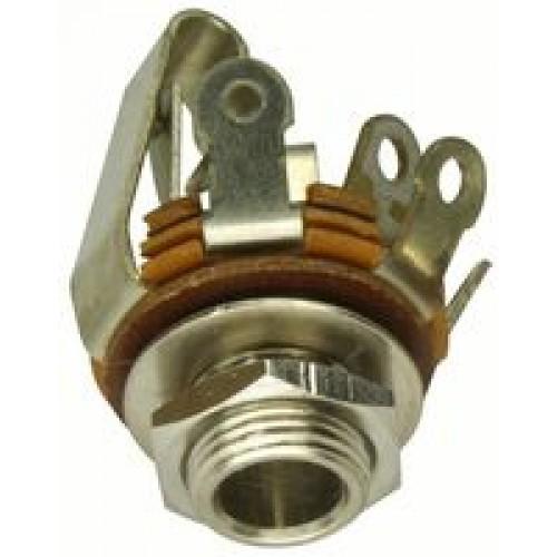 JS-6487 Open Frame 3 pole stereo panel jack socket Switchcraft part No 13B