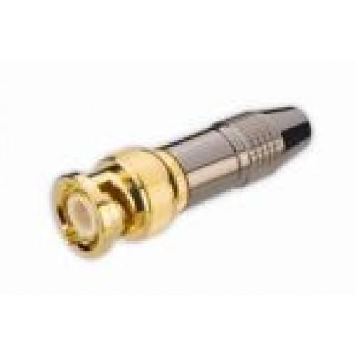 BN-7330 High Quality BNC Plug Gunmetal Finish
