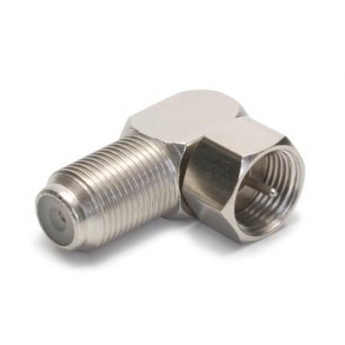 CF-1200 Right angled F socket/plug adaptor