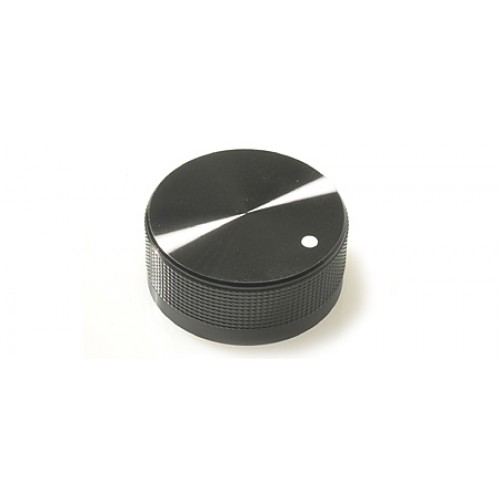 FC7226 K40B Black / Marker Dot Metal Knob