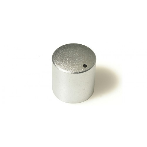 FC72305 KMR 15 Silver / Marker Dot. Metal Rotary Knob