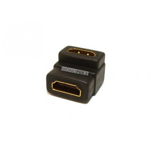 HM-3700 Right Angled HDMI Coupler