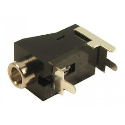JS-352B 3.5mm Mono jack socket PCB mounting plain bush
