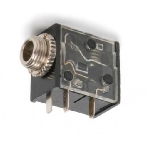 JS-3551 3.5mm Stereo Jack Socket Switchcraft Part no: 35RAPC4BV4