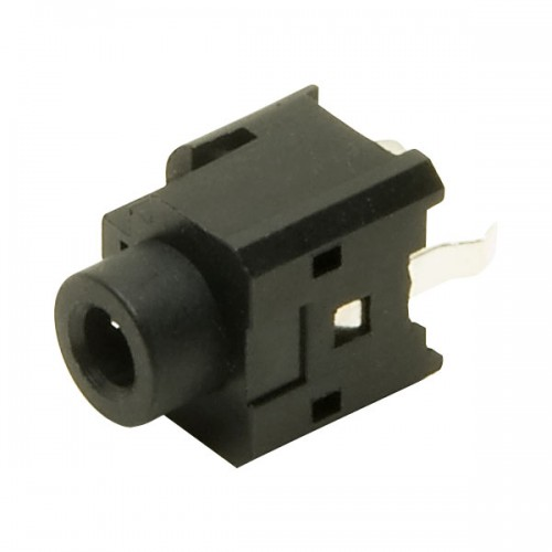 JS-3591  3.5mm stereo unswitched vertical PCB mounting jack socket