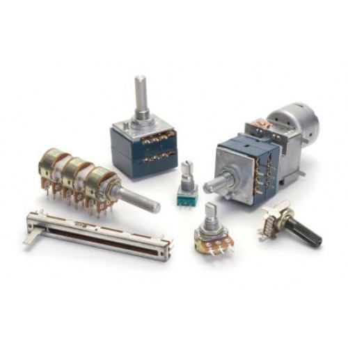 Potentiometers and Encoders to customer specification.