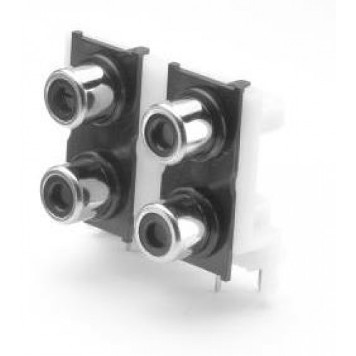 PS-4000, Quad Nickel Plated Phono Socket