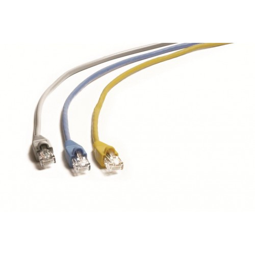 RJ-62100 Cat 6 Patch Cable With Moulded Plug and UTP Cabling 10m WHITE