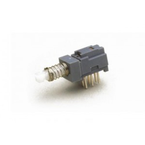 SW-1250 Sub Miniature PCB Push Switch, 2 Pole