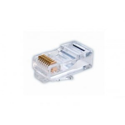 TC-1885 8P8C 8 Pole RJ45 Plug suitable for round cable