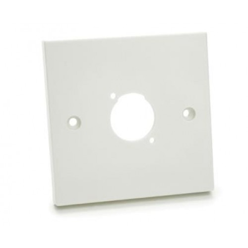 WP-1610 Raised Plastic Wallplate with 1 D cutout.