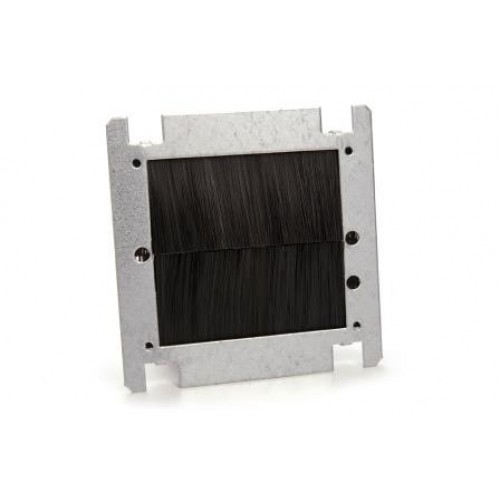 WP-4050: Single Steel, Brush, Rear Adaptor Plate