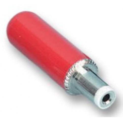 DCP-014 2.5mm DC Plug Red Handle Switchcraft Part Number 765