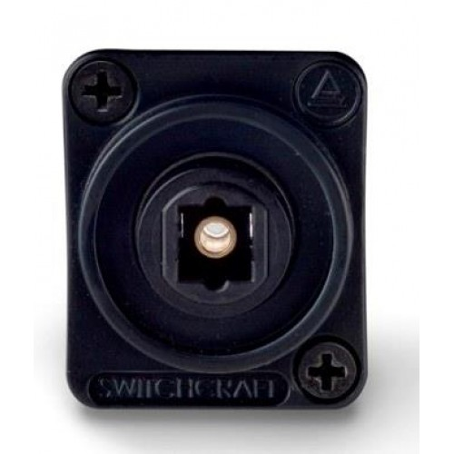 EH-1850 Switchcraft Toslink. Socket to Socket. Black Switchcraft Part Number EHTL2