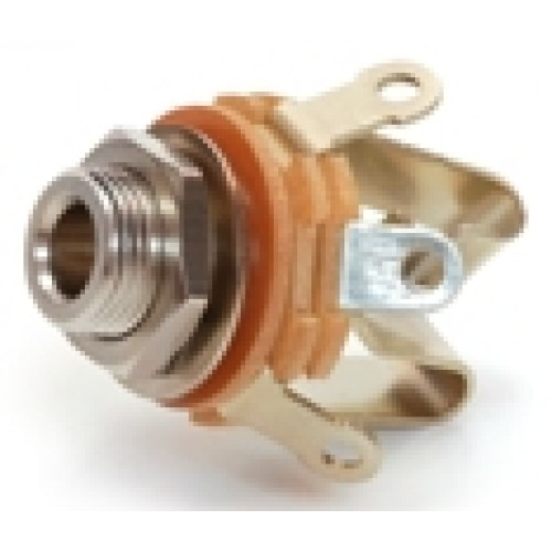 JS-64712 1/4inch; Open Frame Jack Socket,  Mono Switched Switchcraft Part No :12a.